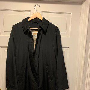 Talbots~ Raincoat w/ Plaid Zip-Out Lining